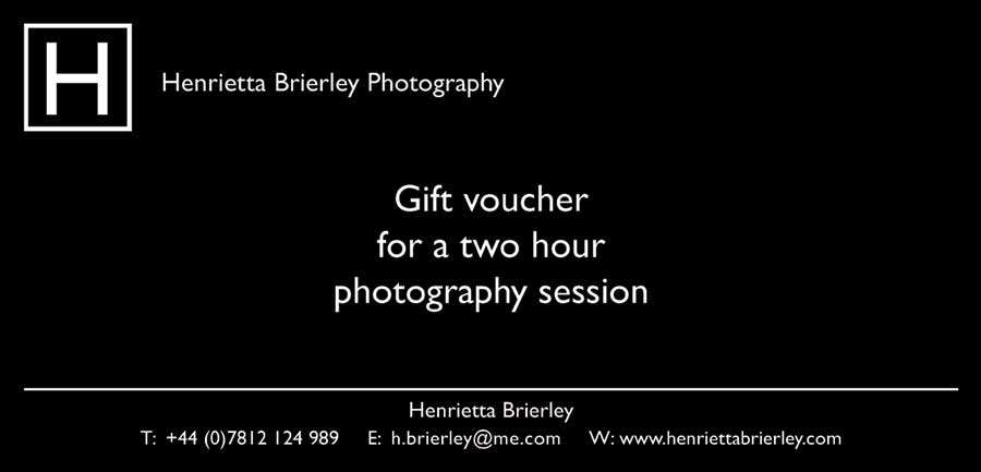 Photography Gift Vouchers Available